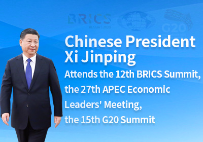Xi attends BRICS summit, APEC Meeting and G20 summit